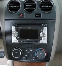 nissan altima 2015 dash nissan altima in dash receiver kit fits 2007 up models u2014 chassis