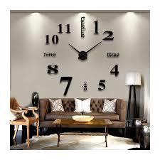 Wall Clocks Buy Diy 3d Acrylic Wall Clock I 102 At Elifor Pk