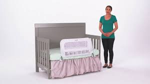 when to convert crib into toddler bed summer infant 2 in 1 convertible crib rail to bedrail product