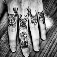 lion finger tattoos 60 secret finger tattoos that nobody will ever see tattoozza