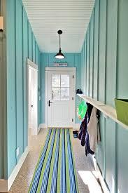 Blue Rug Runners For Hallways Turquoise Hallway Mudroom Mac Custom Homes Mudrooms