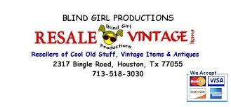 Everytime I Look At You I Go Blind Blind Productions Resale U0026 Vintage Home Facebook