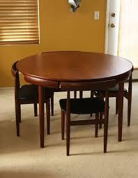 round teak dining table hans olsen teak dining set 6 chair table danish mid century modern