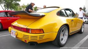 porsche yellow bird ruf yellowbird at supercar sunday speed and motion