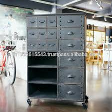 metal storage cabinet with drawers industrial metal painted storage cabinet with drawers vintage metal