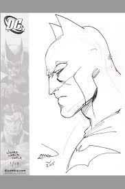 ethan van sciver batman original art sketch wizard world nola