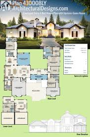 home design house plans with courtyard garage pool homes ideas