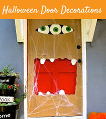 cool halloween door decorations you can do with your kids you