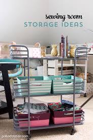 cute u0026 clever sewing room organization ideas u0026 homegoods giveaway