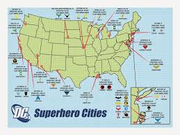map of dc universe usa usa dc universe they forgot middleton co martian manhunter