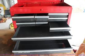 craftsman work bench with toolbox item x9454 sold june