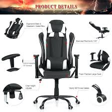 desk chairs office racing chair bucket seat high back ergonomic