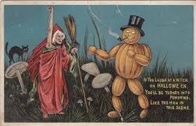 25 interesting and cute vintage halloween postcards vintage everyday