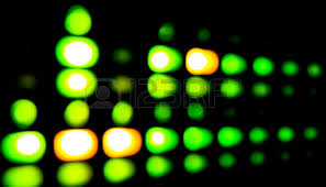 green and orange led lights on data and equipment