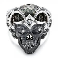 silver rings skull images Mortality skull ring capitan collection 101968 seattle jpg