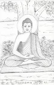 the life of shakyamuni buddha 3 drawings pinterest buddha