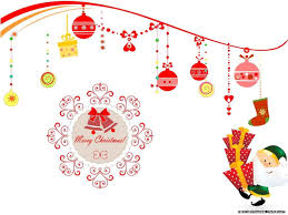 colorful christmas party background for kids poster doodle stock