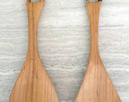 wood serving utensil etsy