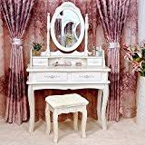 amazon com makeup vanities u0026 vanity benches bedroom furniture