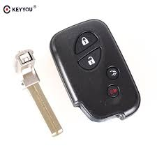 lexus rx 350 key battery keyyou replacement shell 4 buttons smart remote key fob case for