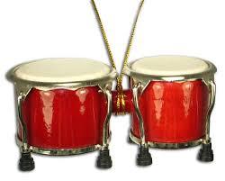 miniature bongo drum ornament 4 home kitchen