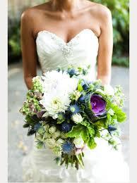 flowering purple kale wedding bouquets centerpieces mon cheri
