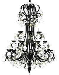 Black Traditional Chandelier Rod Iron Chandelier Lighting U2013 Eimat Co