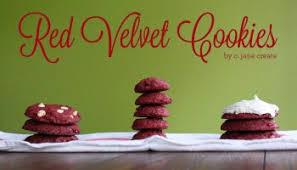4 ingredient red velvet cake mix cookies poofy cheeks