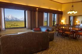 table top lake resorts jackson lake lodge moran suite panoramic teton mountain views