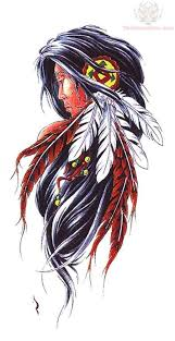new dark black native american symbol tattoo design photo 5 2017