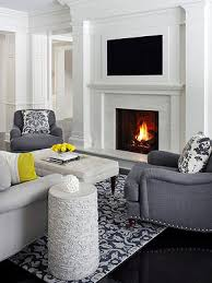 How To Decorate A Non Working Fireplace Tvs Over Fireplaces