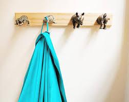 animal wall hooks etsy