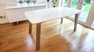 White Gloss Extendable Dining Table Extending Wooden Table Legs Extending Metal Table Legs Extending