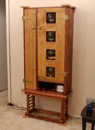 furniture awesome corner locking liquor cabinet for home