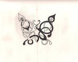 celtic butterfly tattoos and