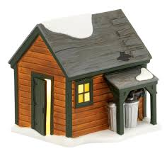 department 56 a christmas story village ralphie u0027s backyard shed