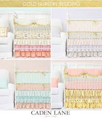 Gold Crib Bedding Sets Our Top 5 Colors Trends For Nursery Design U2013 Caden Lane