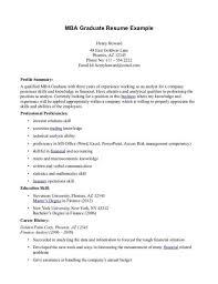 Mba Finance Resume Sample by Download Mba Resume Template Haadyaooverbayresort Com