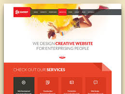 templates for website design sweep html5 css3 flat free business website template uicookies