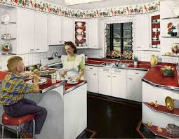 Retro Kitchen Curtains by 1000 Images About Vintage Kitchen On Pinterest