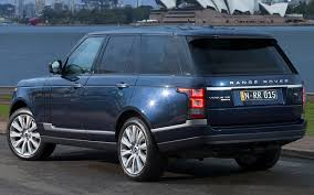 blue range rover vogue range rover vogue se 2013 au wallpapers and hd images car pixel
