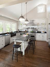 houzz com kitchen islands open kitchen with island houzz