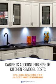 kitchen remodel cabinets how to remodel a kitchen on a budget budget dumpster