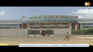 chambre criminelle 18 affaires seront jugées par la chambre criminelle d appel de dakar
