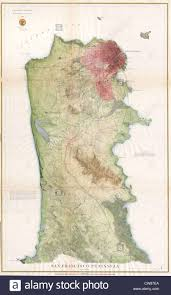 San Francisco Peninsula Map by 1869 U S C S Map Of The San Francisco Peninsula Stock Photo