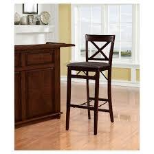triena x back folding bar stool linon home decor target