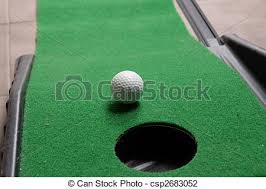 mini golf bureau trou balle golf bureau photo de stock rechercher images et