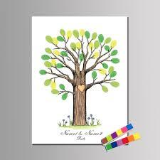 popular baby shower fingerprint tree guest book buy cheap baby