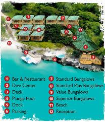 ideal resort map what las rocas resort is and is not las rocas resort dive