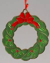 wallace annual goldplate enamel ornament at replacements ltd